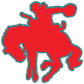 PBR Professional Bull Riders Rodeo Red Bumper Locker Sticker Decal