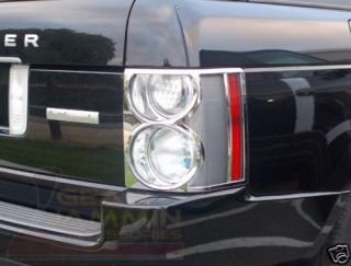range rover hse chrome tail light covers bezels vogue time