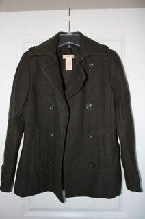 Womens Winter Coat   JOE FRESH   Size Medium OLIVE GREEN   pre owned