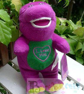 NEW COOL HAPPY BARNEY & FRIENDS ~Singing~ Barney~ the Dinosaur 22CM
