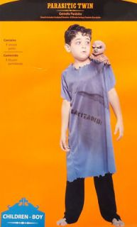 parasitic twin creepy boys halloween costume new nwt more options