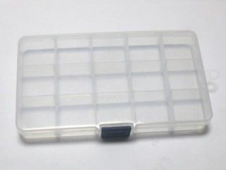 Clear Plastic Box Case 100X175mm Beads Display Storage Container 15