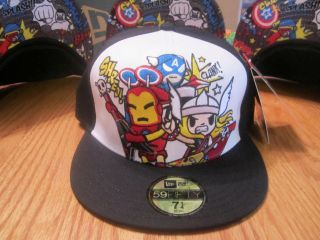 ab1f3392823 tokidoki new era hat marvel heroes rock marvel comics nwt on PopScreen