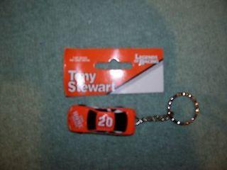 tony stewart 20  nascar key chain time left