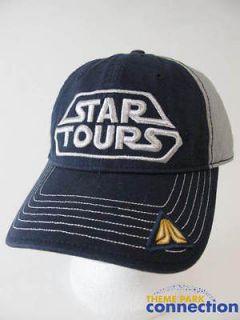 Disney Star Wars STAR TOURS Launch Collection 2011 Baseball Hat Cap