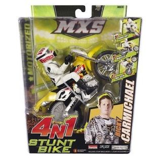 ricky carmichael mxs stunt dirt bike toys time left $