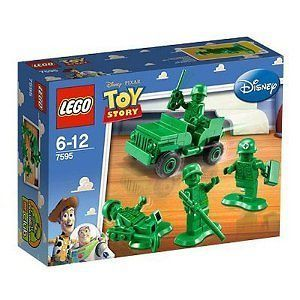LEGO 7595 TOY STORY Army Men on Patrol Soldiers Jeep Disney Pixar NEW