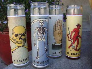 LOTERIA DAY OF THE DEAD DIA DE LOS MUERTOS ALTAR MEXICAN BINGO PILLAR