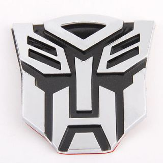 Newly listed TRANSFORMERS AUTOBOT Logo Emblem 3D Decal Sticker Car