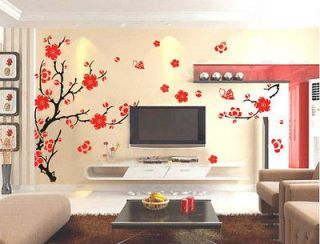 Newly listed Charming Plum Blossom Flower Removable Wall Sticker Decor