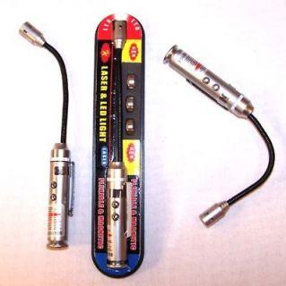 flexible led light w laser pointer flashlight lights  9