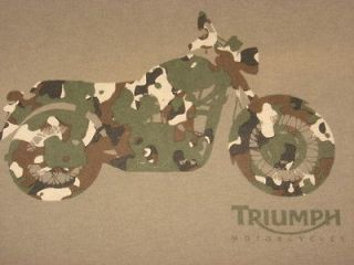 triumph motorcycle t shirts in Clothing, Shoes & Accessories