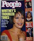 People Weekly December 18 1995 Whitney Houston Michael Jackson Very