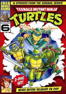 Teenage Mutant Ninja Turtles   Season 6 DVD, 2008, 2 Disc Set