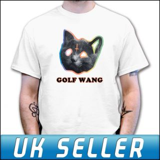 OFWGKTA GOLF WANG ODD FUTURE TYLER THE CREATOR CAT T Shirt Mens Womens