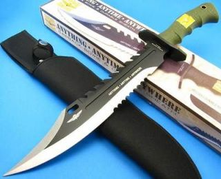 UNITED CUTLERY MARINE FORCE RECON Left Hand Survival Fixed Blade Bowie