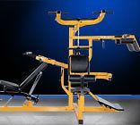 Powertec Fitness Workbench Multi leverage system free S&H