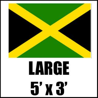 CARIBBEAN NATIONAL SPORT LARGE FLAG USAIN BOLT OLYMPICS 5 X 3FT