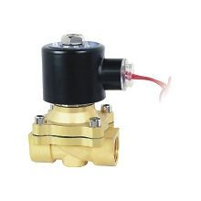 2way2position AC220V 1/2 Electric Solenoid Valve Water Air N/C Gas