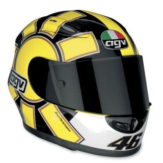 NEW AGV XR2 VALENTINO ROSSI REPLICA GOTHIC YELLOW 2X LARGE/2XL HELMET