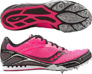 Ladies Saucony Velocity 4 Long Distance Spikes Running Spikes 101054