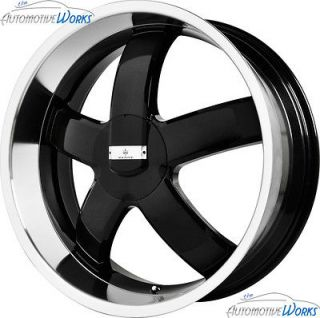18x8 Verde Skylon 5x114.3 5x4.5 5x120 +38mm Gloss Black Wheels Rims 18