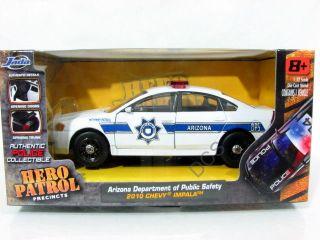 Jada 2010 CHEVY IMPALA ARIZONA DEPARTMENT POLICE PATROL CAR 1/32