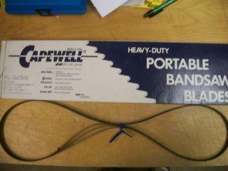 53 3 4 24 tpi capewell bi metal bandsaw blades