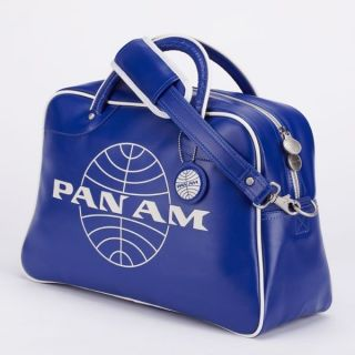PAN AM ORION Hand Bag Purse Tote Vintage in Pan Am BLUE Retro Style