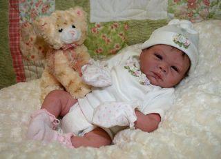 Reborn Vinyl Doll KIT Supply Baby PAISLEY Peach Denise Pratt Lifelike