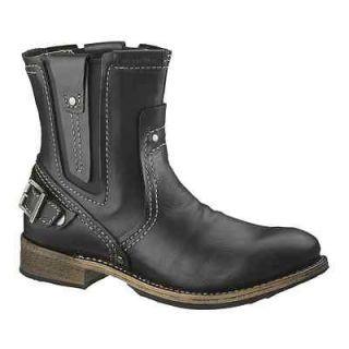 CAT Footwear Caterpillar Mens VINSON Black Leather Work Boots P710477