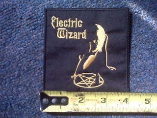 ELECTRIC WIZARD patch,SAINT VITUS,ORCHID,TROUBLE,COVEN,GHOST,PENTAGRAM