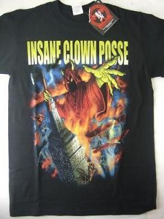 icp insane clown posse wraith city hatchetman shirt lg