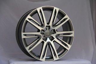 BLACK RS3 S LINE STYLE WHEELS FITS AUDI Q5 QUATTRO VW TIGUAN TDI RIMS
