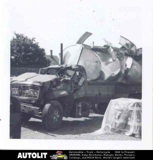 1969 gmc tractor trailer truck crash photo time left $