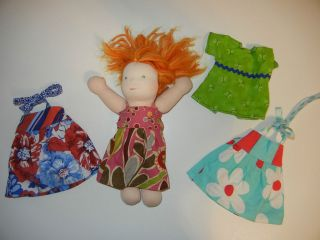 Bamboletta 10 Doll Girl Waldorf Little Buddy Buddies LB Outfits CQ