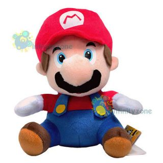 NEW Nintendo Wii Super Mario Bros 12 MARIO Plush Figure Doll Toy Red