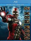 Iron Man 2 (Blu ray, 2010, 2 Disc set) w/slipcover, No DVD/Digital