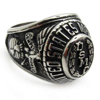 Newly listed Men gothic warrior hero badge marine corps USMC ring