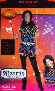 WIZARDS OF WAVERLY PLACE ALEX POLKA DOTS COSTUME SIZE 4   6