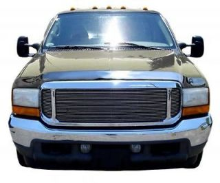 1999 2007 Ford F250 Super Duty AVS 680706 CHROME Bug Shield Hood Guard