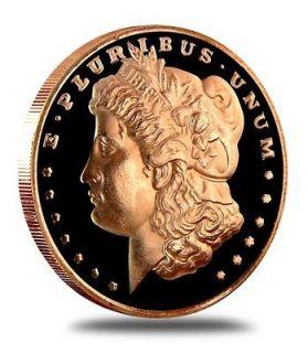OZ COPPER COINS *MORGAN HEAD* .999 COPPER COINS INGOT BULLION LB OZ