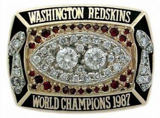 washington redskins championship rings in Football NFL