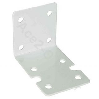 Bracket for Big Blue Filter Housing 10 or 20 White Powder Coated