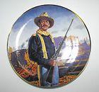 franklin mint john wayne hero of the west plate enlarge