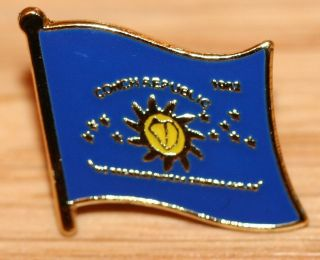 CONCH REPUBLIC Country Metal Flag Lapel Pin Badge
