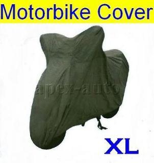 XL WATERPROOF Motorbike Motorcycle Rain Dust COVER Weather Protector