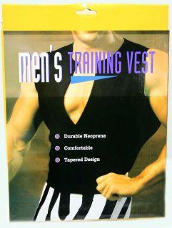 xl men s neoprene body building workout training vest time