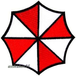 resident evil umbrella corporation logo iron on patch from thailand