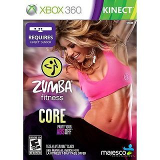 Newly listed ZUMBA FITNESS CORE (XBOX 360, 2012) (7943) ***GAME ONLY